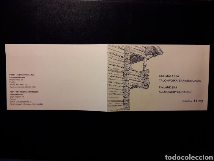Sellos: FINLANDIA. YVERT CARNET 814/23 SERIE COMPLETA NUEVA SIN CHARNELA. ARQUITECTURA RURAL. CASAS - Foto 2 - 156676522