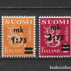Sellos: FINLANDIA 1940 * NUEVO SC 221-222 6.00 - 3/10. Lote 156697442