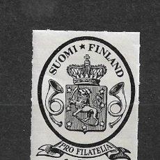 Sellos: FINLANDIA 1931 * NUEVO SC B8 SP8 1M + 4M BLACK 15.00 - 3/10. Lote 156698062