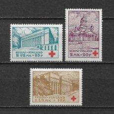 Sellos: FINLANDIA 1932 * NUEVO SC B9-B11 (3) 3.10 - 3/10. Lote 156698514