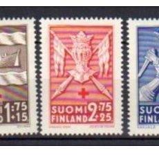 Sellos: SELLOS USADOS DE FINLANDIA, YT 246/ 50. Lote 158076978