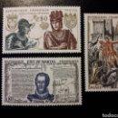 Sellos: FRANCIA. YVERT 1616/8 SERIE COMPLETA NUEVA SIN CHARNELA. HISTORIA. REYES.. Lote 158593666