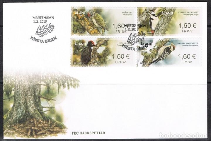 Briefmarken Atm 2 Fdc Nett Aland Aland