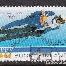 Timbres: FINLANDIA 1988 - SELLO USADO. Lote 161410429