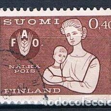 Sellos: FINLANDIA 1963 Y550 USADO SERIE. Lote 171209598