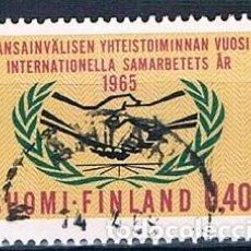 Sellos: FINLANDIA 1965 Y569 USADO SERIE. Lote 171209775