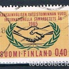 Sellos: FINLANDIA 1965 Y569 USADO SERIE. Lote 171209813