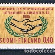 Sellos: FINLANDIA 1965 Y569 MNH** SERIE. Lote 171209835
