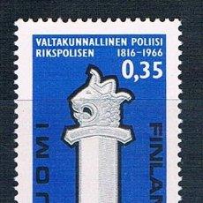 Sellos: FINLANDIA 1966 SELLO NUEVO MNH** YVES 586 SERIE. Lote 171460404