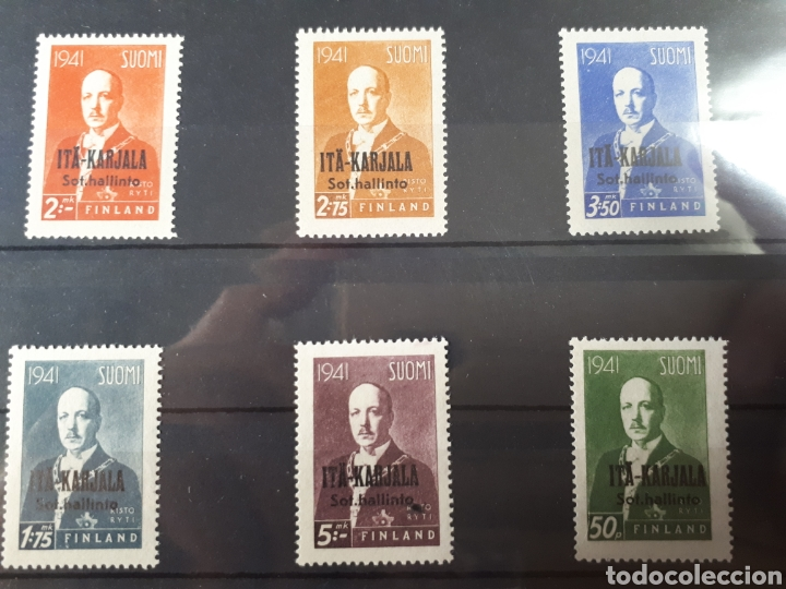 SELLOS FINLANDIA AÑO 1941 LOT.N.777 (Sellos - Extranjero - Europa - Finlandia)