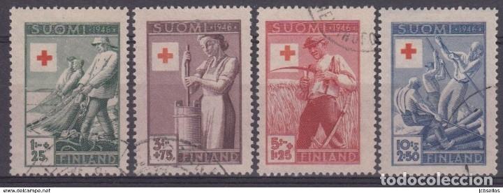 SELLOS USADOS DE FINLANDIA, YT 305/ 08 (Sellos - Extranjero - Europa - Finlandia)