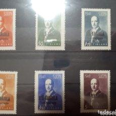 Sellos: SELLOS DE FINLANDIA OCUPACION RUSA AÑO 1941 LOT.N.1057. Lote 172656893