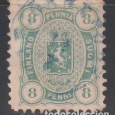 Sellos: FINLANDIA, 1875-81 YVERT Nº 19 A,A, ( DENTADO 11 ). Lote 172723794