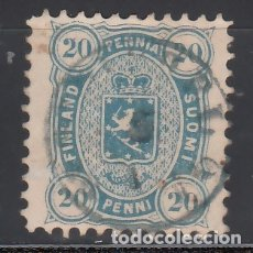 Sellos: FINLANDIA, 1875-81 YVERT Nº 16 B, ( DENTADO 11 ). Lote 172724013