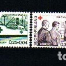 Sellos: SELLOS USADOS DE FINLANDIA, YT 561/ 64. Lote 173390899