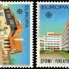Sellos: SELLOS USADOS DE FINLANDIA, YT 788/ 89. Lote 173391780
