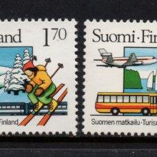 Sellos: FINLANDIA 974/75** - AÑO 1987 - TURISMO EN FINLANDIA. Lote 174243770