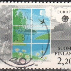 Sellos: FINLANDIA - UN SELLO - IVERT:#FI-950 - ***E U R O P A C.E.P.T.*** - AÑO 1986 - USADO. Lote 175871108