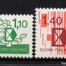 Sellos: FINLANDIA 904/05** - AÑO 1984 - NUEVA CLASIFICACION DE ENVIOS POSTALES. Lote 176356028