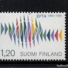 Sellos: FINLANDIA 921** - AÑO 1985 - 25º ANIVERSARIO DE LA ORGANIZACION EUROPEA DE LIBRE COMERCIO. Lote 177591009
