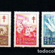 Sellos: SELLOS USADOS DE FINLANDIA, YT 417/ 19. Lote 177983603