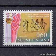Sellos: FINLANDIA 1973 ~ CULTURA: ÓPERA NACIONAL ~ SELLO NUEVO MNH LUJO. Lote 179083333