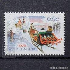 Sellos: FINLANDIA 1976 ~ NAVIDAD ~ SELLO NUEVO MNH LUJO. Lote 179108761