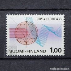 Sellos: FINLANDIA 1978 ~ CONGRESO INTERNACIONAL DE MATEMÁTICAS ~ SELLO NUEVO MNH LUJO. Lote 179110112