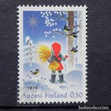 Sellos: FINLANDIA 1978 ~ NAVIDAD ~ SELLO NUEVO MNH LUJO. Lote 179110343