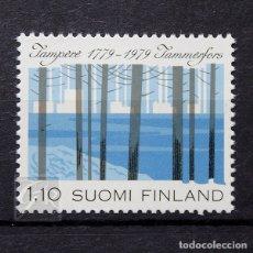 Sellos: FINLANDIA 1979 ~ ANIVERSARIO DE LA CIUDAD DE TAMPERE ~ SELLO NUEVO MNH LUJO. Lote 179110963