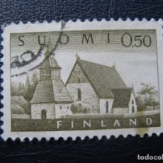 Sellos: FINLANDIA 1963, YVERT 541. Lote 182000818