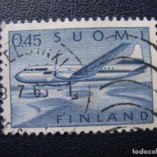 Sellos: FINLANDIA 1963, YVERT 8 AEREO. Lote 182001373