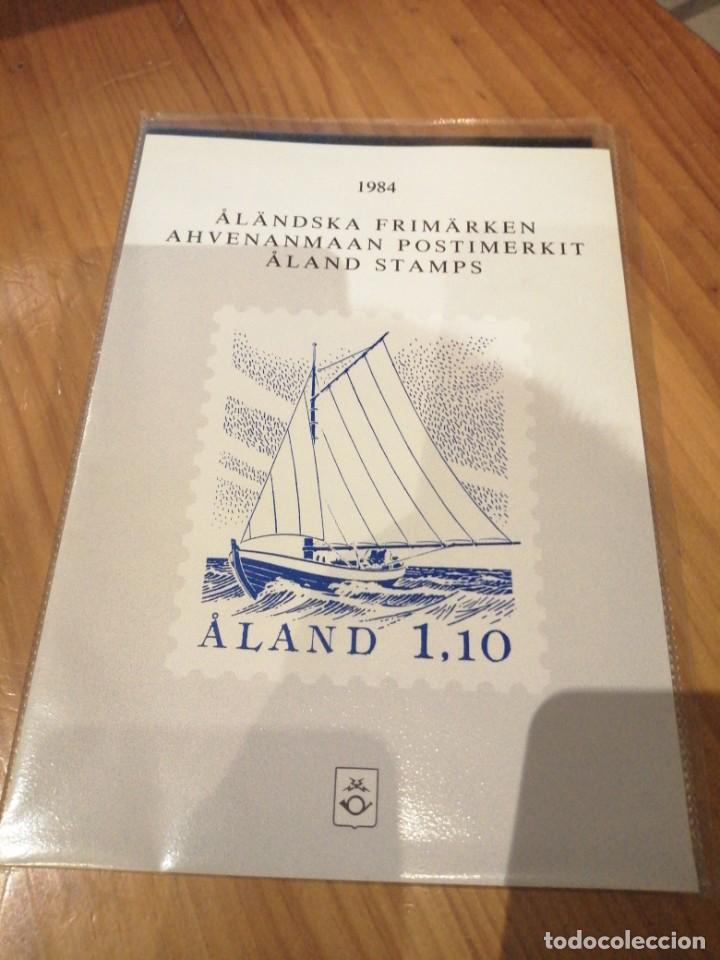 AÑO COMPLETO 1984 ALAND (Sellos - Extranjero - Europa - Finlandia)