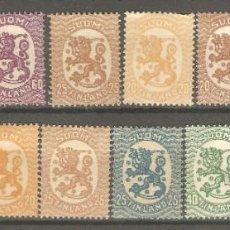 Sellos: FINLANDIA,15 VAL.A PARTIR 1917,VARIOS AÑOS,ESTADOS Y SERIES, TODOS G.ORIGINAL.. Lote 186869127