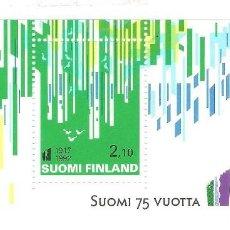 Sellos: HOJITA FINLANDIA,1992 CAT. YT BL9 G.ORIGINAL,NUEVA, SIN FIJASELLOS.. Lote 186874128