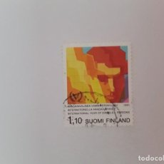 Sellos: FINLANDIA SELLO USADO. Lote 190535800