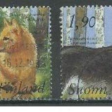 Sellos: SELLOS USADOS DE FINLANDIA, YT 1044/ 47. Lote 190827386