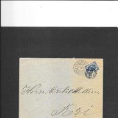 Sellos: FINLANDIA CURIOSA CARTA CIRCULADA EN 1906, Y CON EXCELENTE CONSERVACION. Lote 192049675