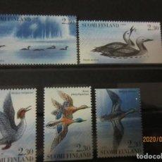 Sellos: FINLANDIA 1993 5 V. NUEVO. Lote 193381892
