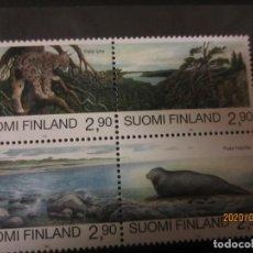 Sellos: FINLANDIA 1995 4 V. NUEVO. Lote 193382010