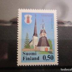 Sellos: FINLANDIA 1971 1 V. NUEVO. Lote 193409205