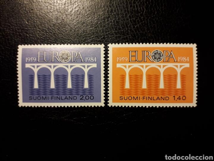 FINLANDIA YVERT 908/08 SERIE COMPLETA NUEVA ***. EUROPA CEPT. PUENTES. (Sellos - Extranjero - Europa - Finlandia)