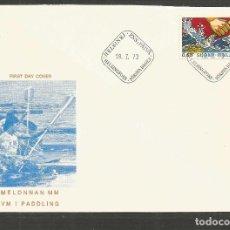Sellos: FINLANDIA SOBRE PRIMER DIA DE CIRCULACION YVERT NUM. 688. Lote 195500661