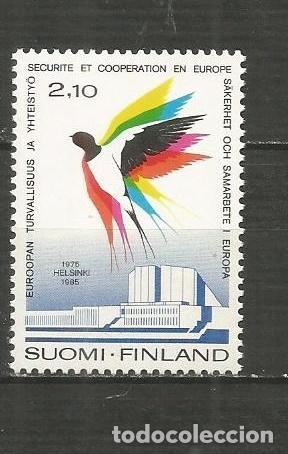 FINLANDIA YVERT NUM. 934 ** SERIE COMPLETA SIN FIJASELLOS (Sellos - Extranjero - Europa - Finlandia)