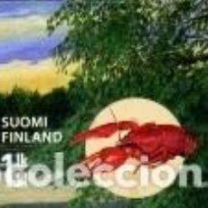 Sellos: SELLO USADO DE FINLANDIA YT 2020. Lote 198786941
