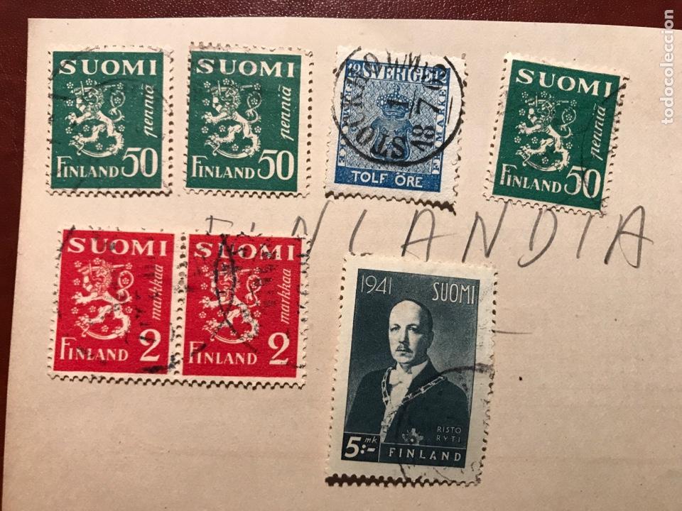 FILATELIA. FINLANDIA. 1941 (Sellos - Extranjero - Europa - Finlandia)