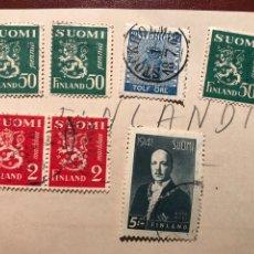 Sellos: FILATELIA. FINLANDIA. 1941. Lote 199718867