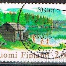 Sellos: FINLANDIA Nº 1497, SAUNA, USADO. Lote 201136806