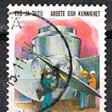 Sellos: FINLANDIA IVERT 956, TÉCNICA Y TRABAJO: TURBINA DE KAPLAN, USADO. Lote 201138808