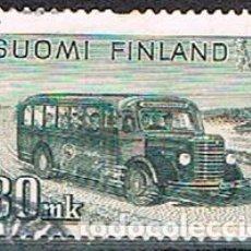 Sellos: FINLANDIA IVERT Nº 337, VEHÍCULO DE TRANSPORTE POSTAL, USADO. Lote 201142092